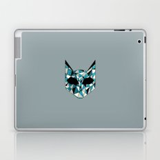 Turquoise Cat Laptop & iPad Skin