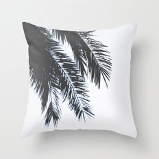 Palm Tree leaves abstract II Throw Pillow