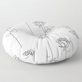 Thorns Floor Pillow