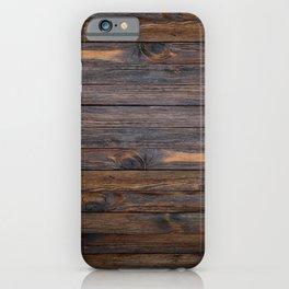 Espresso Oak iPhone Case