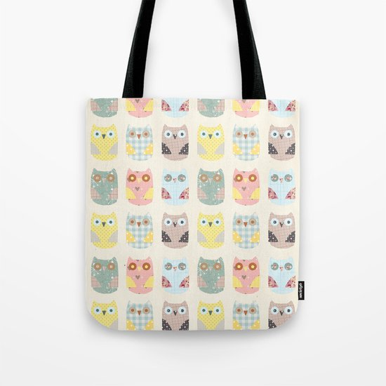 owls pattern Tote Bag