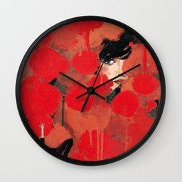Ma rose à moi Wall Clock