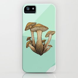 Geometric Fungi iPhone Case