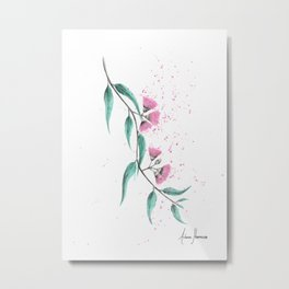 Eucalyptus Lush Metal Print
