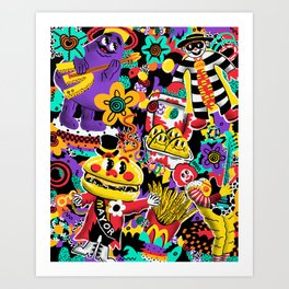 McNugget Dreaming Art Print