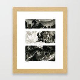 was it now? Framed Art Print