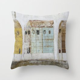 Summer Rentals Throw Pillow