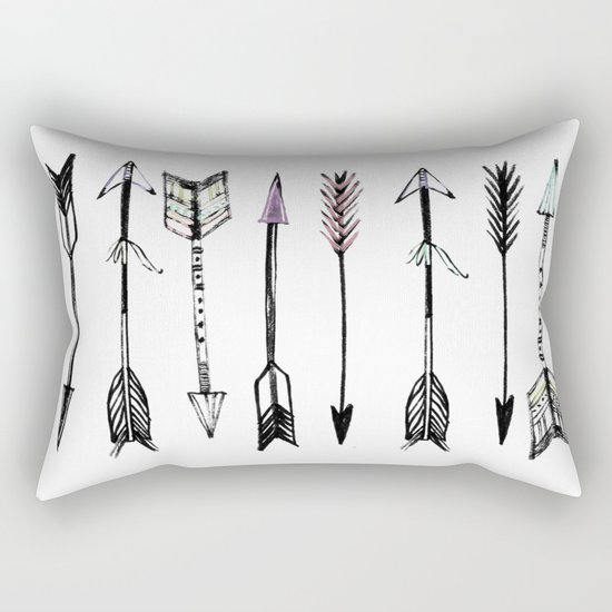 Arrows & more arrows Rectangular Pillow