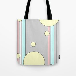 Bubble Stripe Curtains Tote Bag