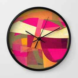 Confusion in Paradise Wall Clock
