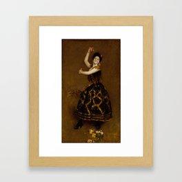 Carmencita , by William Merritt Chase 1849-1916 Framed Art Print
