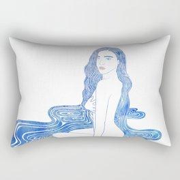 Water Nymph CII Rectangular Pillow