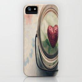 Love in a jar iPhone Case