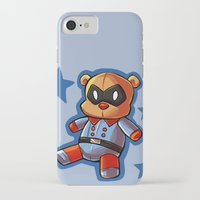 bucky iPhone & iPod Cases featuring bucky!bear by zombietonbo