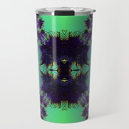 Hawaiian Neon Summer Nights Travel Mug