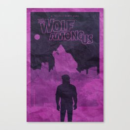 The Wolf Among Us - Poster Canvas Print