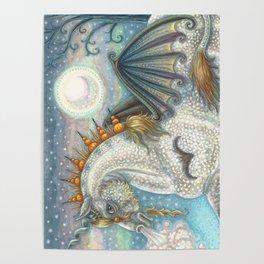 SPELLBOUND Gothic Halloween Unicorn Poster