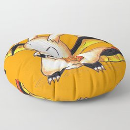 Trick or Treat Dragon Floor Pillow