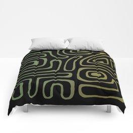 Tribal Maze II - Moss Comforters
