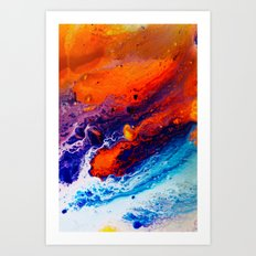 Return Art Print