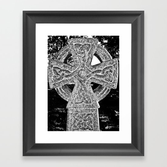 Celtic Cross Framed Art Print