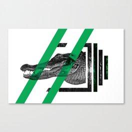Crocodylinae Canvas Print
