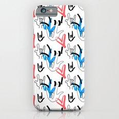 I Love You ILY Slim Case iPhone 6s