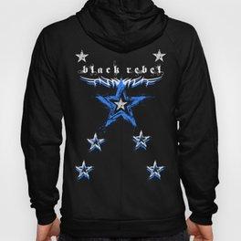 Black Rebel Clothing : Star design Hoody