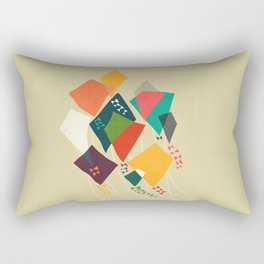 Whimsical kites Rectangular Pillow