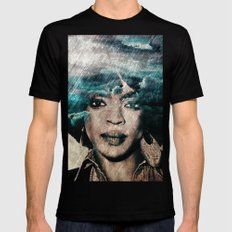 Lauryn Hill  Mens Fitted Tee SMALL Black