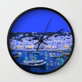 City Night Wall Clock
