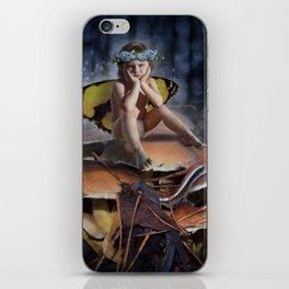 Mad Mushroom Fairy iPhone Skin