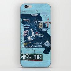 MISSOURI iPhone & iPod Skin