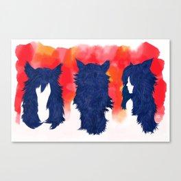 Wolf Hair Canvas Print