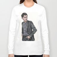 alex turner Long Sleeve T-shirts featuring Alex Turner  by vooce & kat