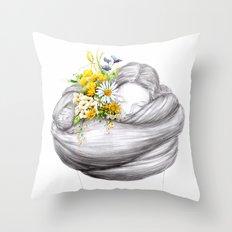 Rewildling Throw Pillow