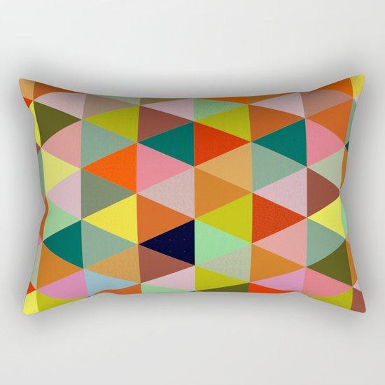 Abstract #267 Rectangular Pillow