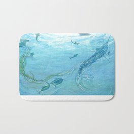 The Old Man & the Sea Bath Mat