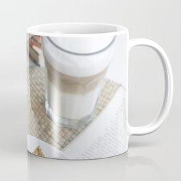 Traditional Czech honey cake with cafe latte Coffee Mug