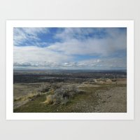 Boise Overlook Art Print