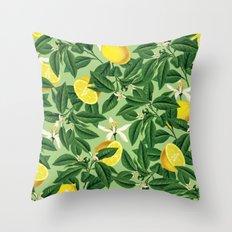 Lemonade || #society6 #decor #pattern Throw Pillow