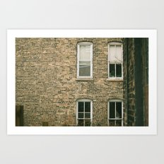 Old Bricks Art Print