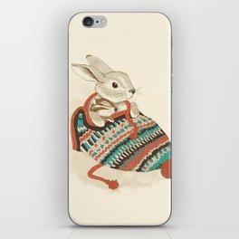 cozy chipmunk iPhone Skin