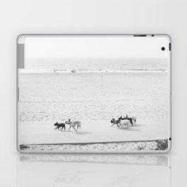 Puppy Traffic, French Bulldogs, Frenchie Art, French Bulldog Gifts Laptop & iPad Skin