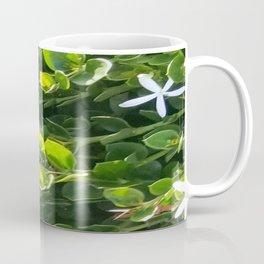 White Star Green Garden Coffee Mug