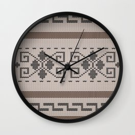 The Big Lebowski Cardigan  Wall Clock