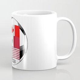 United Hosting 2026 Soccer Championship Football Fan Logo Coffee Mug
