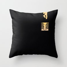 Out of Sin (Natural) Throw Pillow