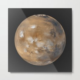 Mars Daily Global Image from April 1999 Metal Print