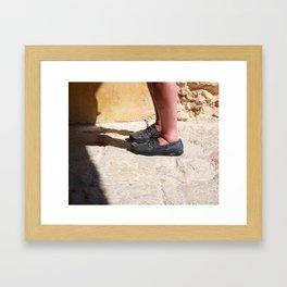 Gone Ashore Framed Art Print
